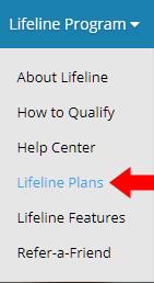 q link lifeline plans